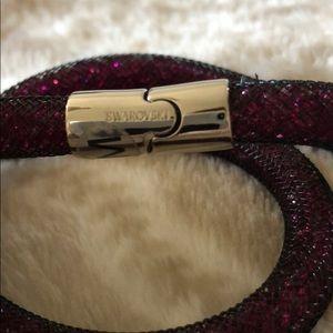 Swarovski Jewelry - Swarovski Purple/ multicolor Stardust bracelet